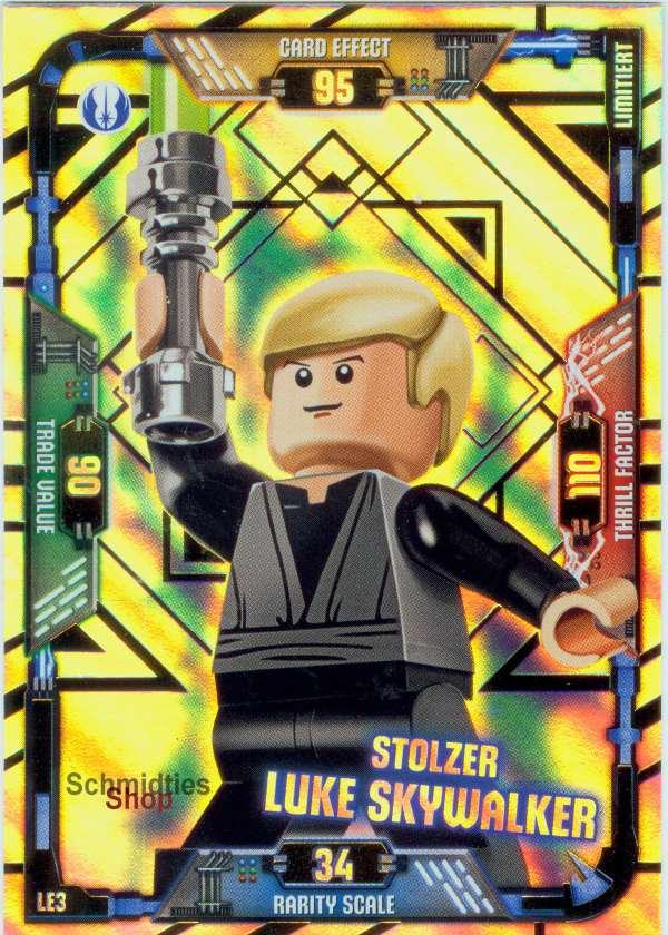 LEGO®Star Wars Limitierte Karte - Stolzer Luke Skywalker