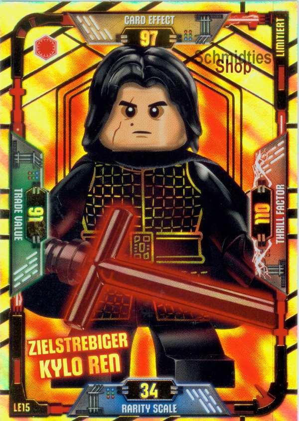 LEGO®Star Wars Limitierte Karte - Zielstrebiger Kylo Ren