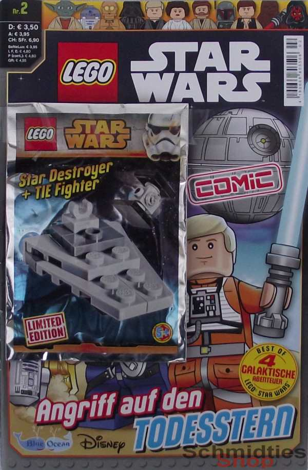 LEGO® Star Wars Comic Nr.02/16a - Angriff auf den Todesstern