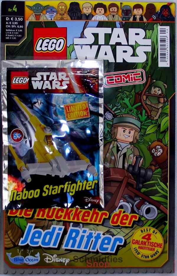 LEGO® Star Wars Comic Nr.04/17a Die Rückkehr der Jedi Ritter!