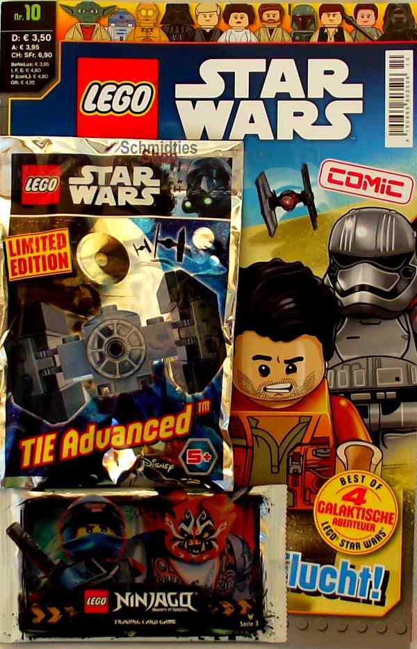 LEGO® Star Wars Comic Nr.10 - Poe auf der Flucht