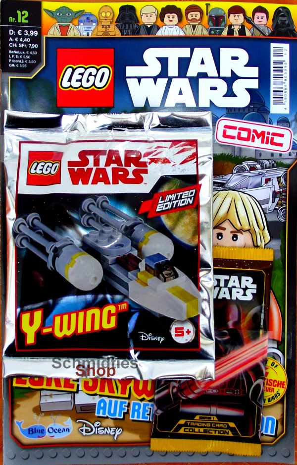 LEGO® Star Wars Comic Nr.12 - Luke Skywalker auf Rettungsmission