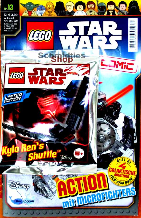 LEGO® Star Wars Comic Nr.13 - Action mit Microfighters