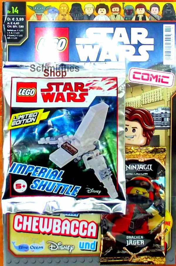 LEGO® Star Wars Comic Nr.14 - Abenteuer mit Chewbacca & Han Solo