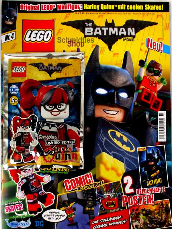 LEGO® The Batman Movie Magazin mit Minifigur Batman Nr.04/18