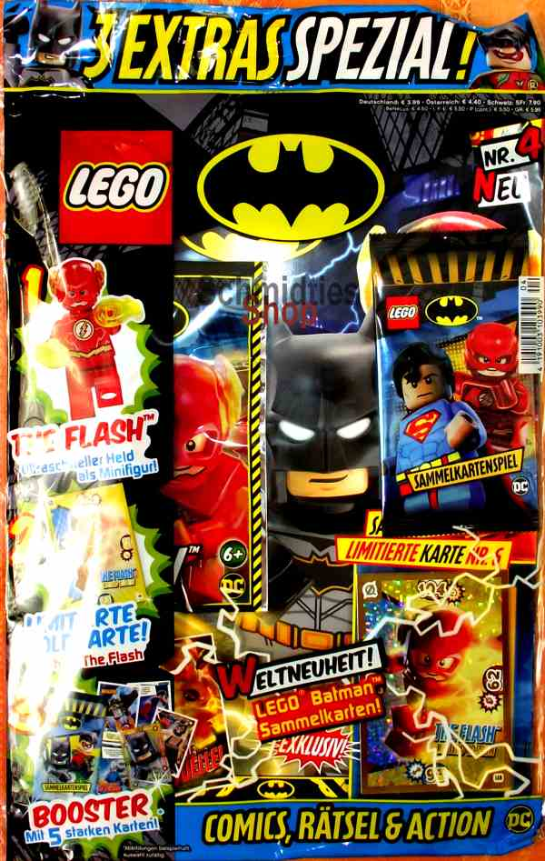 LEGO® Batman Magazin mit Minifigur The Flash Nr.04/19
