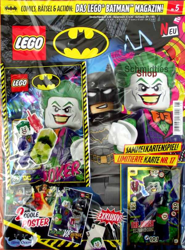 LEGO® Batman Magazin mit Minifigur The Jocker Nr.05/19