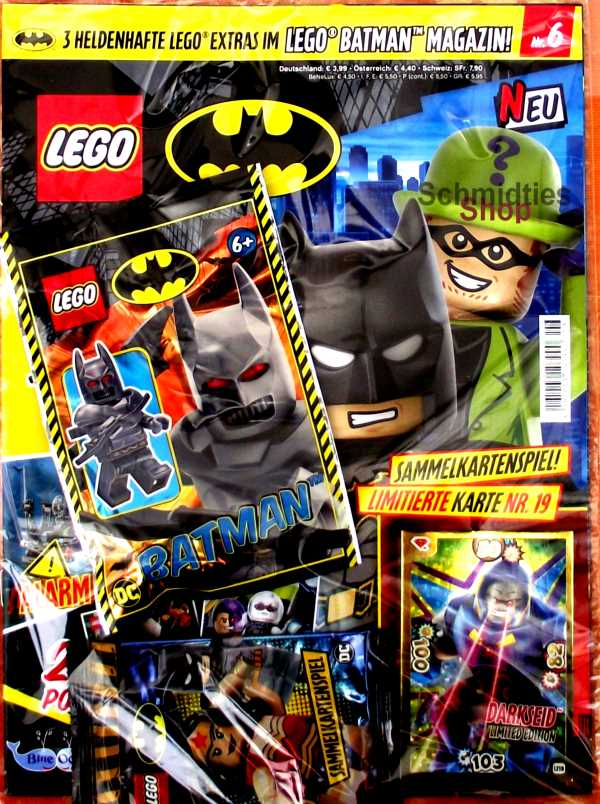LEGO® Batman Magazin mit Minifigur The Jocker Nr.06/19