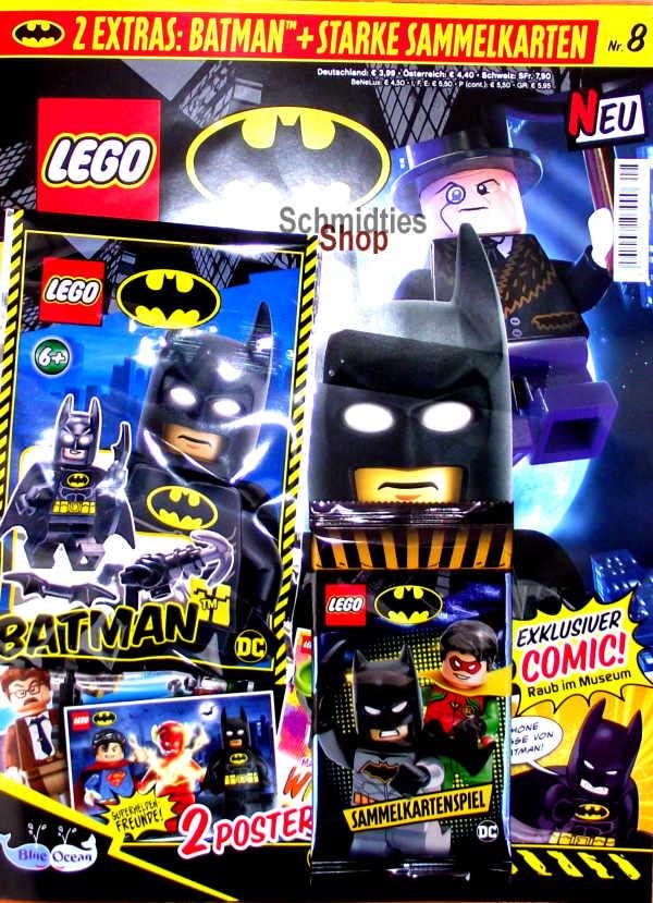 LEGO® Batman Magazin mit Minifigur Batman Nr.08/20