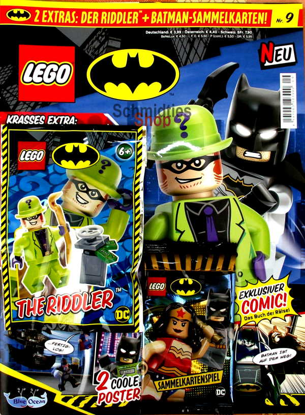 LEGO® Batman Magazin mit Minifigur The Riddler Nr.09/20