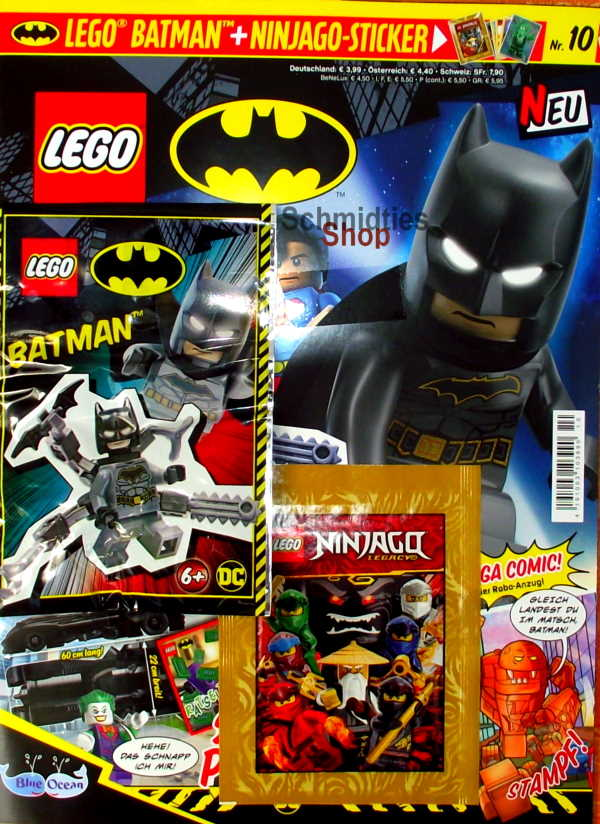 LEGO® Batman Magazin mit Minifigur Batman Nr.10/20