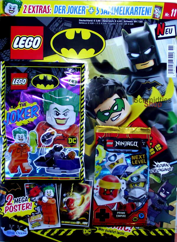 LEGO® Batman Magazin mit Minifigur The Joker Nr.11/20