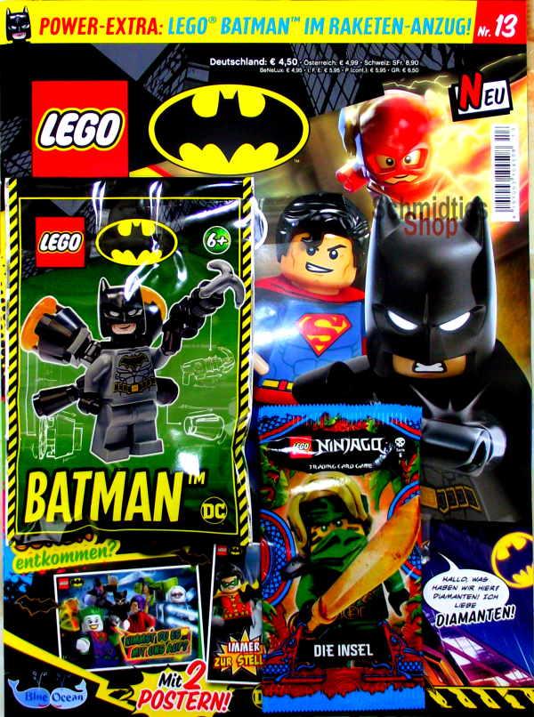 LEGO® Batman Magazin mit Minifigur Batman! Nr.13/2021