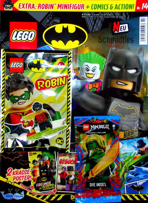 LEGO® Batman Magazin mit Minifigur Robin Nr.14/21