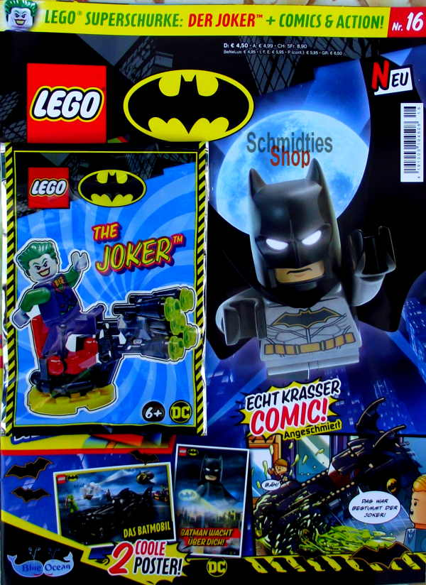 LEGO® Batman Magazin mit Minifigur The Joker Nr.16/21