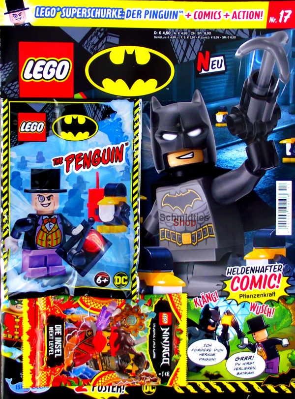 LEGO® Batman Magazin mit Minifigur The Penguin Nr.17/21