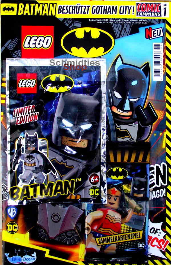 LEGO® Batman Comic mit Minifigur Batman Nr.01/20