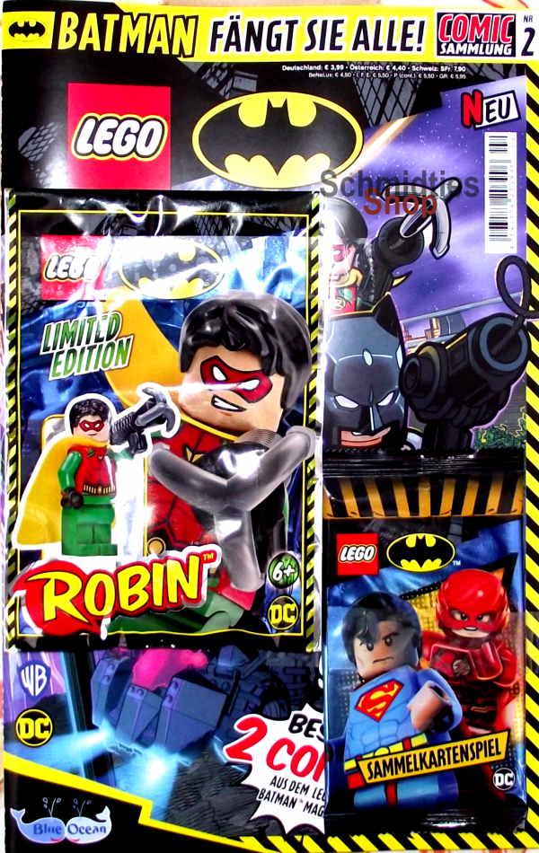 LEGO® Batman Magazin mit Minifigur Batman Nr.02/20 Aktuell