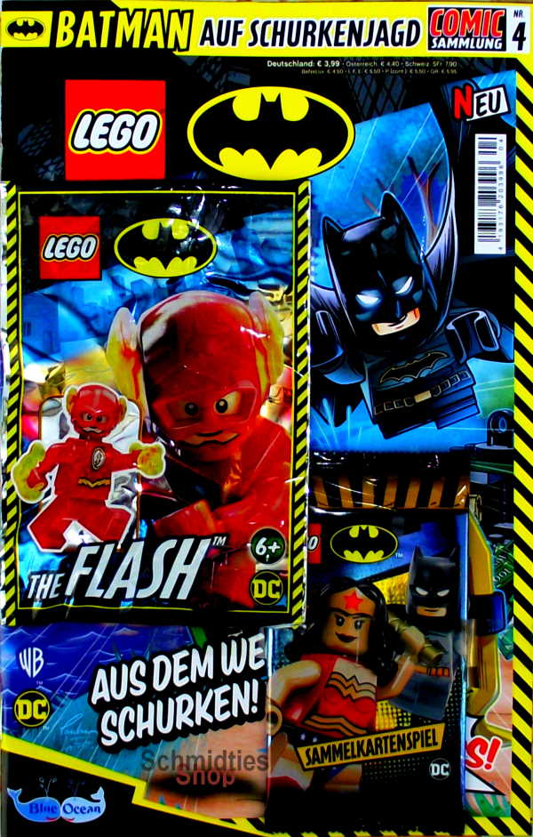 LEGO® Batman Comic mit Minifigur Superman Nr.04/21 Aktuell!