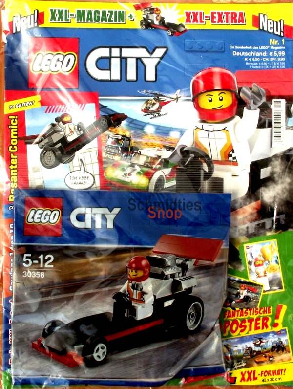 LEGO® XXL City Sonderheft 01 - mit Polybag 30358