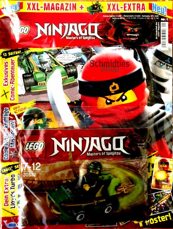 LEGO® XXL Ninjago Sonderheft 01 - mit Polybag 30532