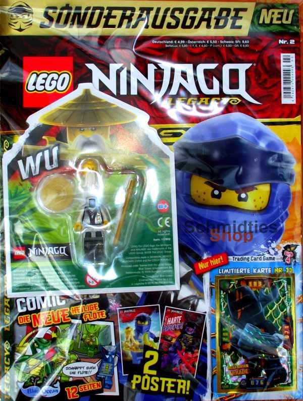 LEGO® NINJAGO Legacy Magazin mit Zubehör Nr.02/19