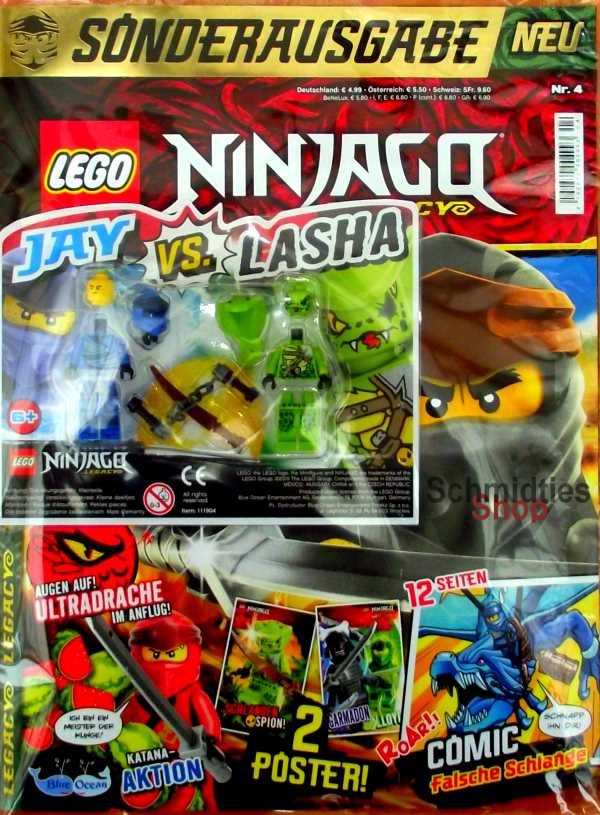 LEGO® NINJAGO Legacy Magazin mit Zubehör Nr.04/19