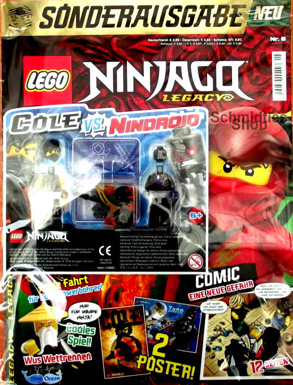 LEGO® NINJAGO Legacy Magazin mit Zubehör Nr.05/20