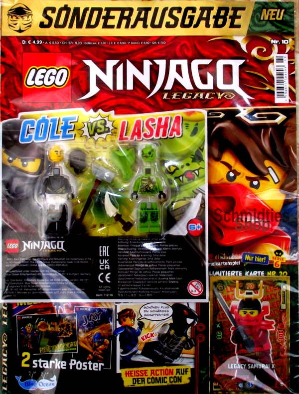 LEGO® NINJAGO Legacy Magazin mit Zubehör Nr.10/21