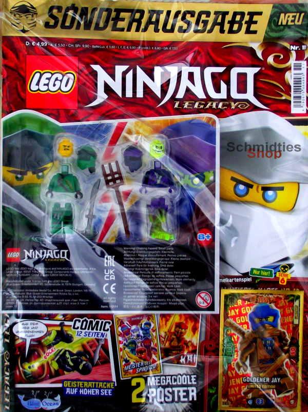 LEGO® NINJAGO Legacy Magazin mit Zubehör Nr.11/21