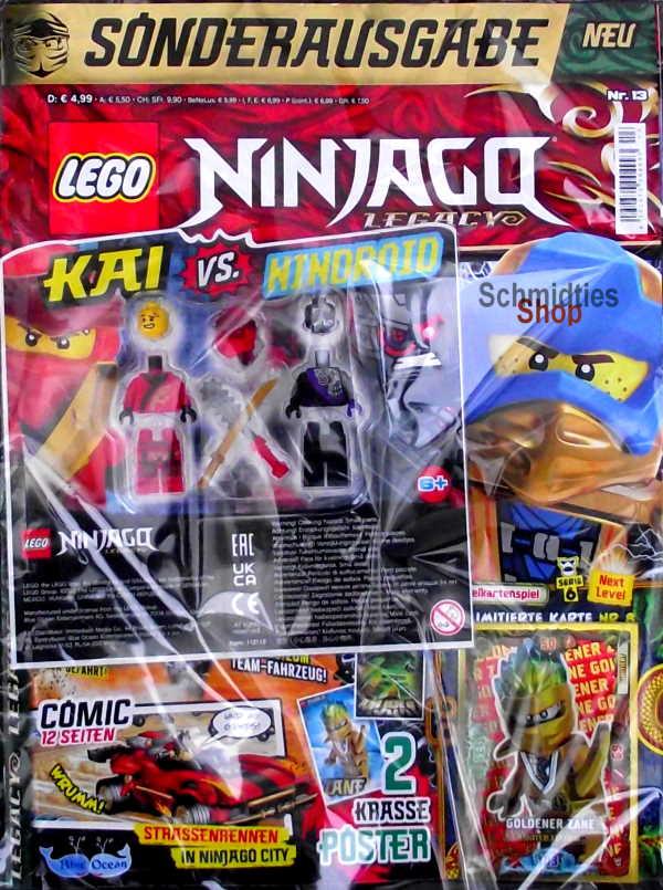 LEGO® NINJAGO Legacy Magazin mit Zubehör Nr.13/21