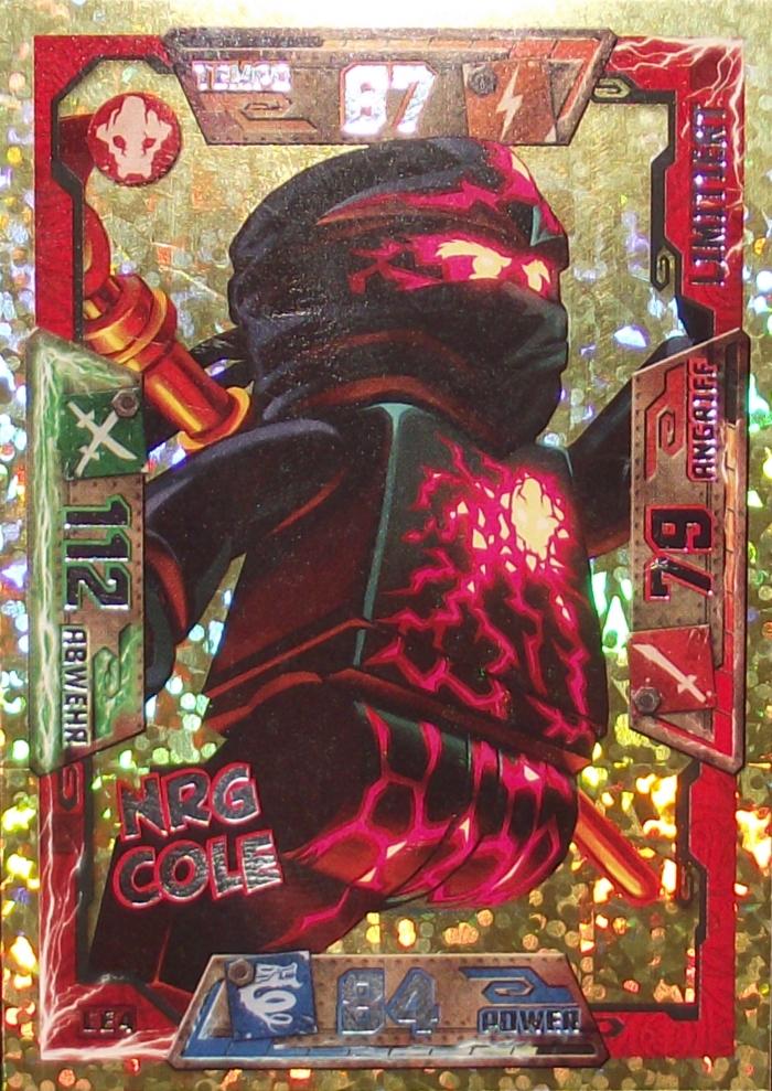 lego174 ninjago limitierte trading goldkarte serie 1 2016