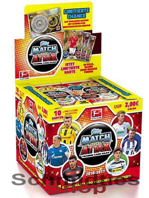 TOPPS MATCH ATTAX - 1 x DISPLAY - Saison 2016/17