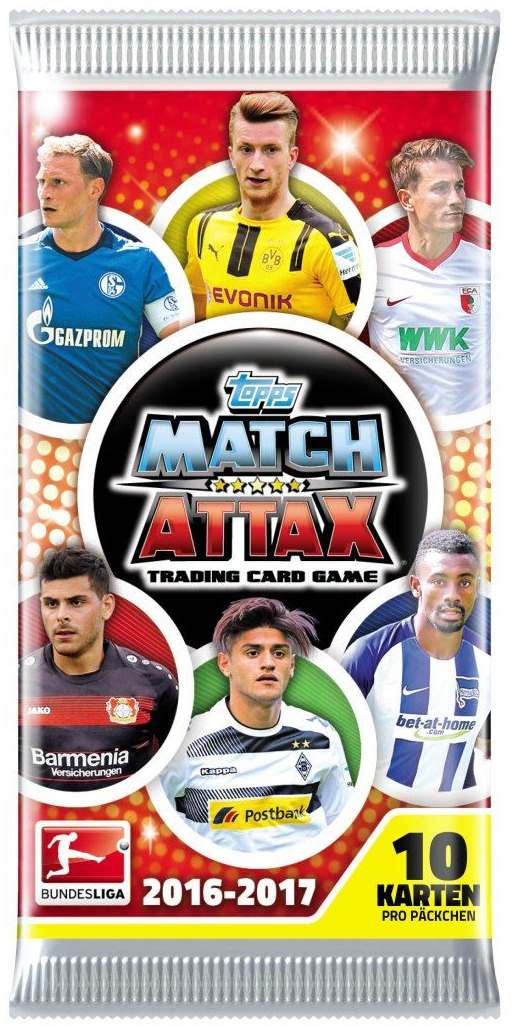 MATCH ATTAX - 1 x DISPLAY - Saison 2016/17