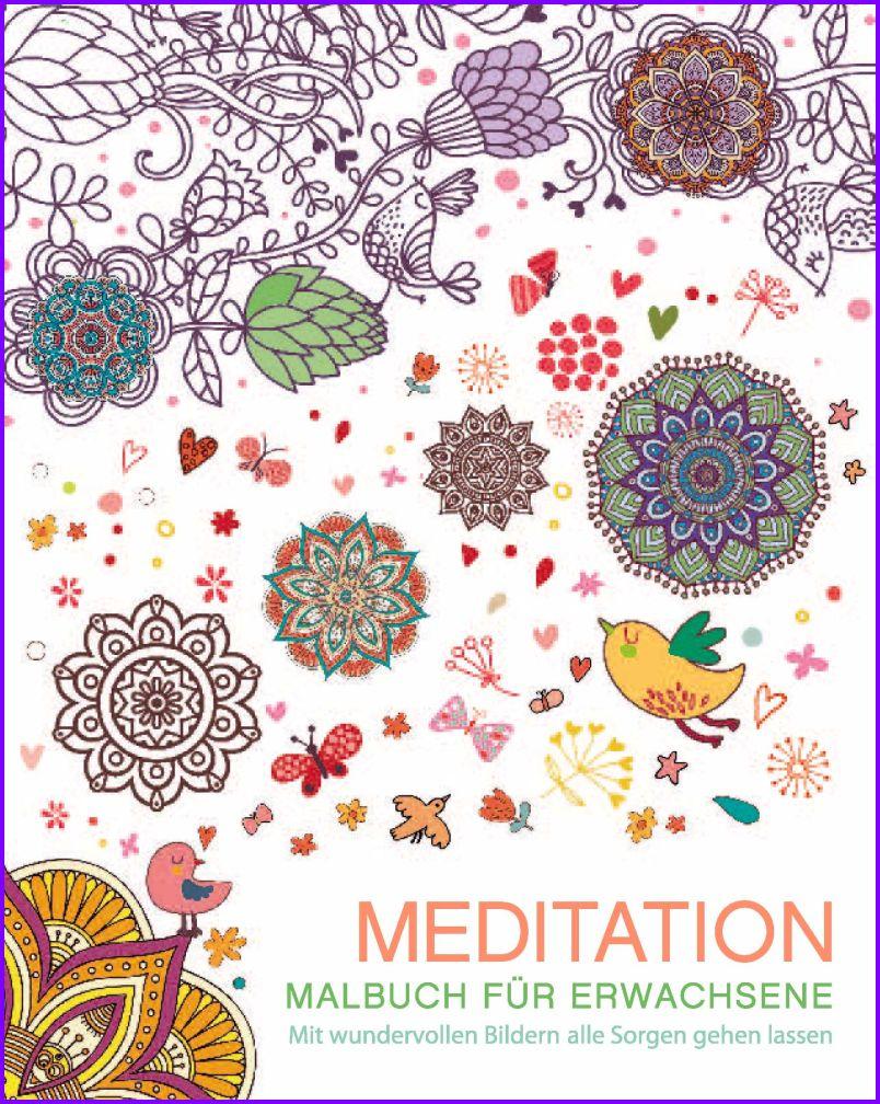 Meditation - Malbuch für Erwachsene