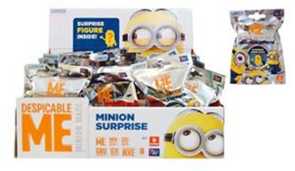Minion Supprise - Display a' 30 Booster Tüten