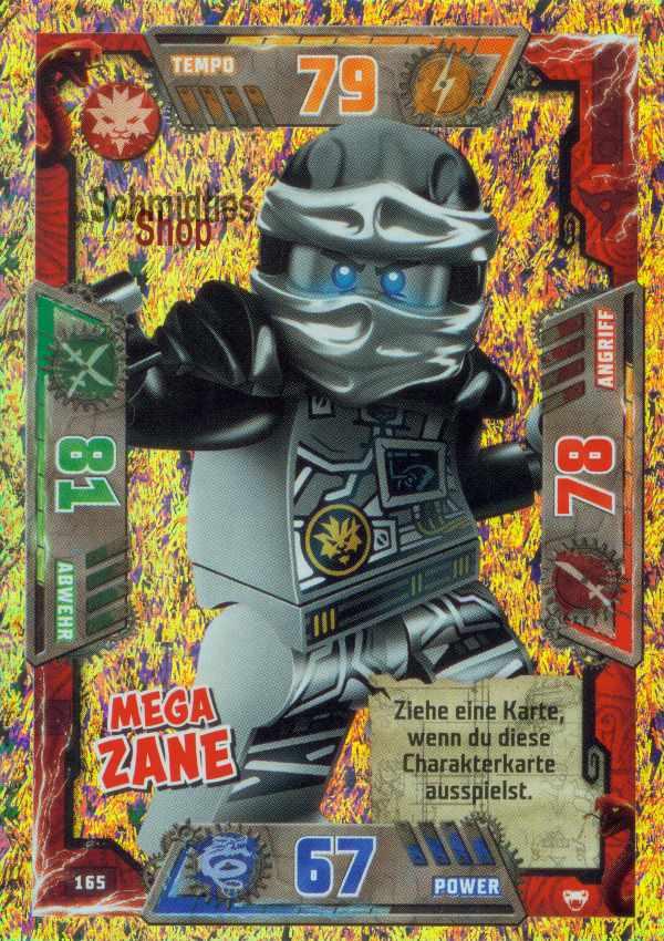 LEGO Ninjago Serie 1 Sammelkarten 80 Monkey Wretch