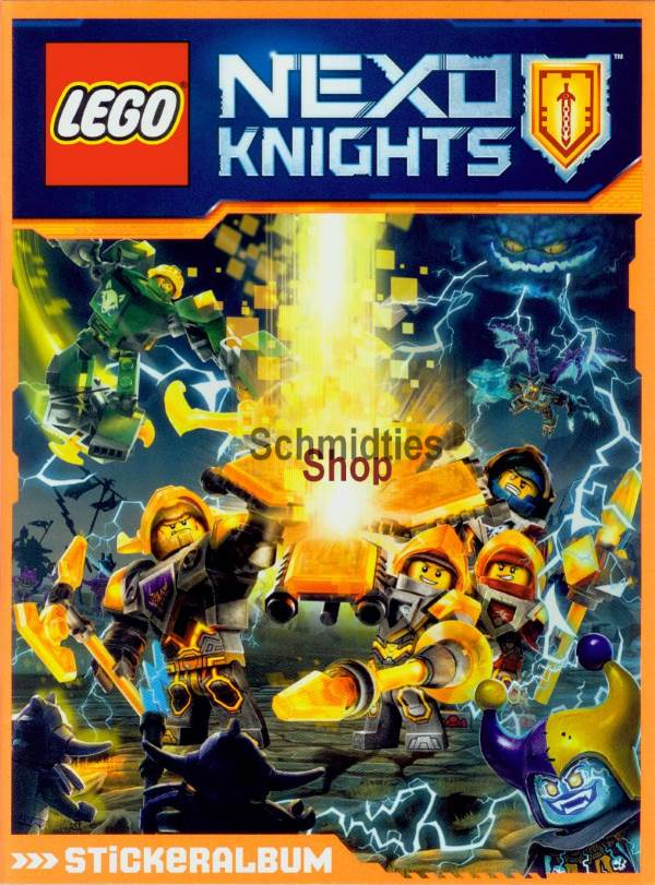 LEGO® NEXO KNIGHTS™ - Stickeralbum - Limited Edition