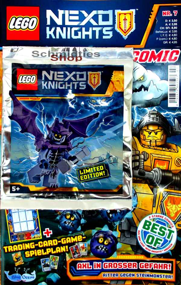 LEGO® Nexo Knights Comic Nr.07/2018 - Axl in grosser Gefahr!