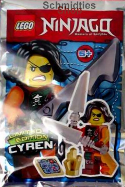 LEGO® NINJAGO™ - Figur Cyren 2 Schwerter u.a. - Limitiert