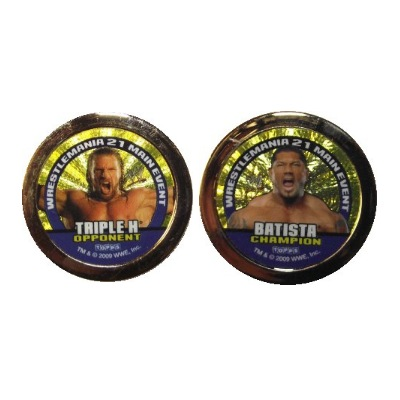 Power Chipz - Gold - Batista & Triple H