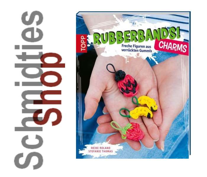 Bastelanleitungsbuch Rubberbands! Charms