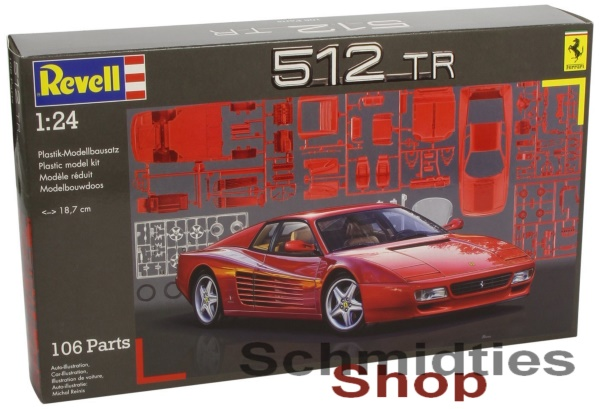 Revell® 07084 - Ferrari 512 TR Maßstab: 1:24 - NEU/OVP
