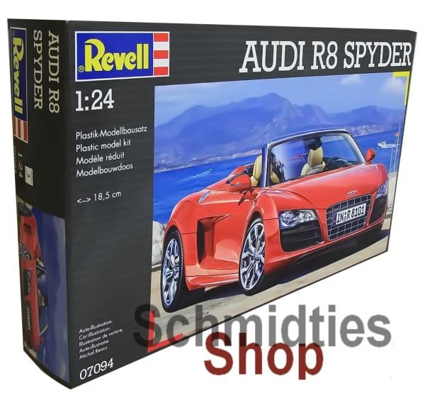 Revell® 07094 - AUDI R8 SPYDER Maßstab: 1:24 - NEU/OVP