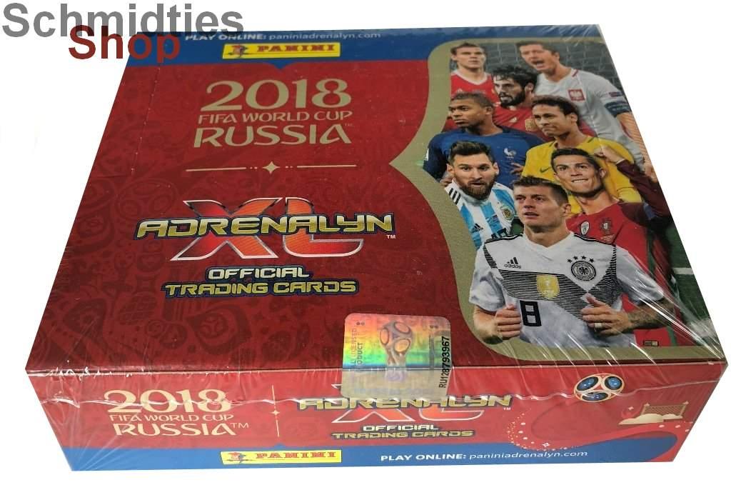 PANINI - Fifa World Cup Russia 2018 - 100er Display
