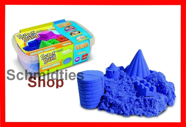 Goliaht® - Super Sand™ - Color Refill Blau (450g)(Art.83246)