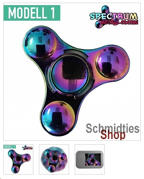 Fidget Spinner - Spectrum Weltall Edition Modell 1