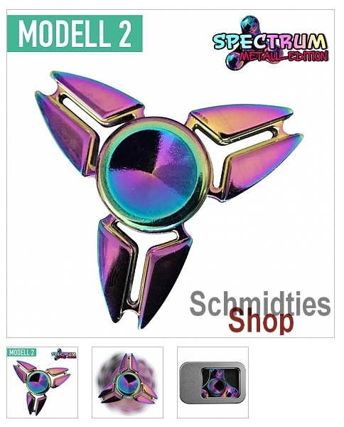 Fidget Spinner - Spectrum Weltall Edition Modell 2