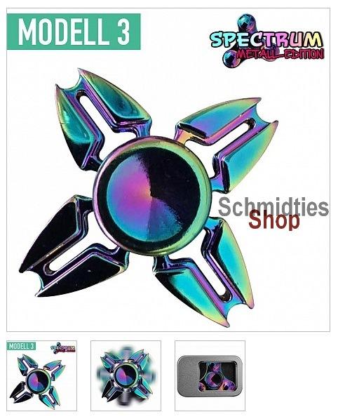 Fidget Spinner - Spectrum Weltall Edition Modell 3