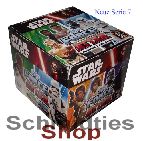 Topps Star Wars - Force Attax Serie 7 - 50er Display